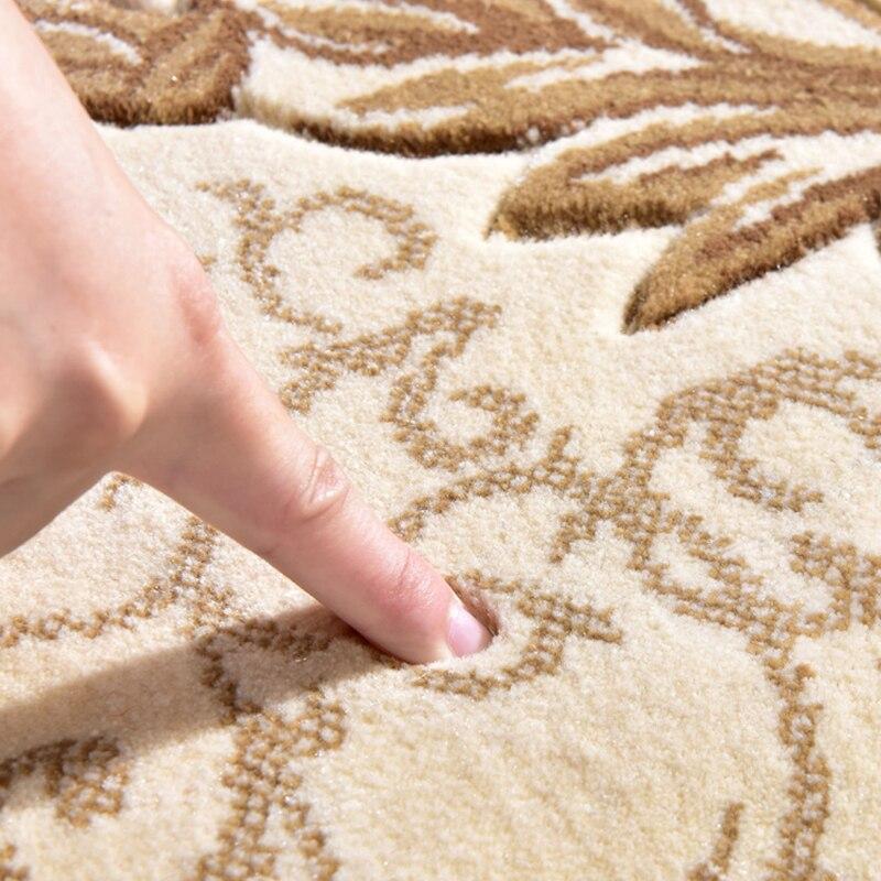 Tapis de luxe doux nordique pour salon chambre chevet tapis maison tapis zone délicate tapis d'étude tapis de sol Design moderne - 5