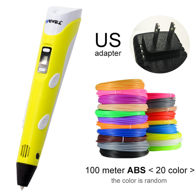 Yellow US-100m ABS