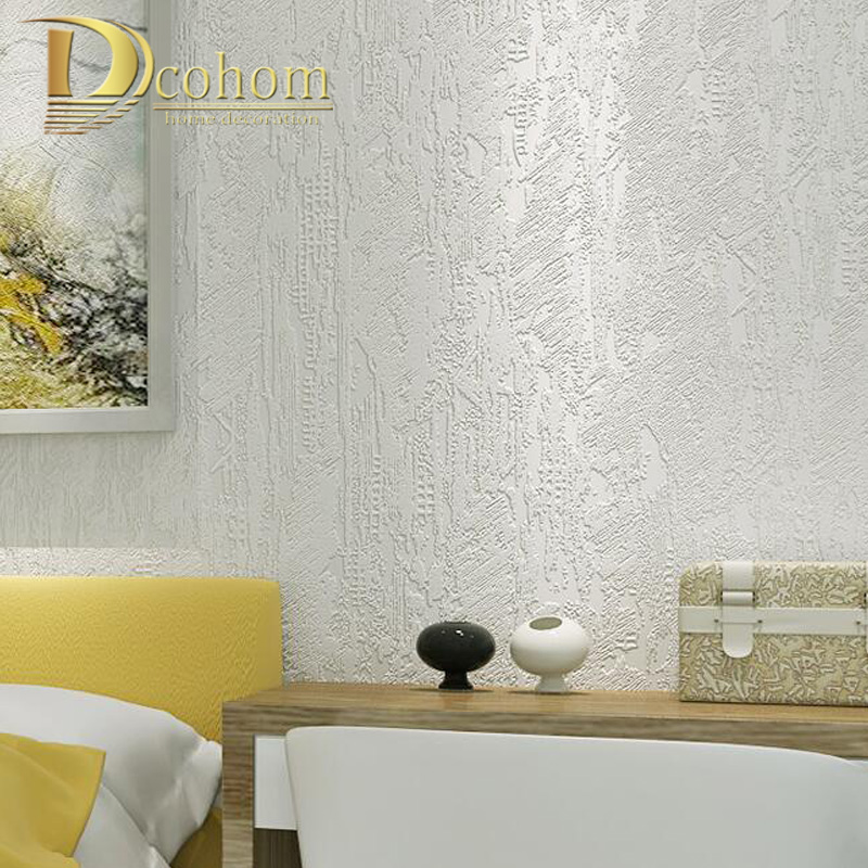 Us 17 99 40 Off Vintage Marble Wallpaper For Room Bedroom 3d Solid Color Metallic Non Woven Relief Concrete Cement Plain Texture Wall Paper Roll In