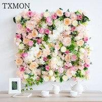 1 квадратный метр искусственные розы поддельные цветы стены фон Свадебные украшения Поставки стены декоративная Арка Шелковый цветок