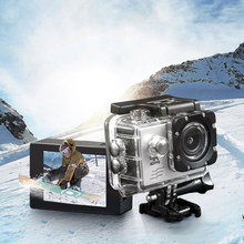 фотоаппарат экшен камера Камера спорта WIFI соединение водонепроницаемый HD камера подводной съемки universal travel камера портативный катания W01