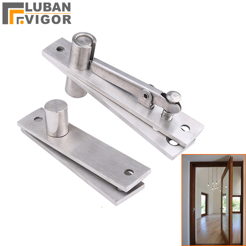 304 Stainless Steel Rotating Shaft/hinges,Adjustable Gap,Wooden Door Hidden  Hinge,