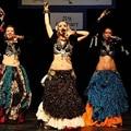 Nuevas Llegadas ATS Danza Del Vientre Tribal Falda Impresa Algodón Vestido Flamenco Español Full Circle Ancho 14 Metros Gitana Faldas Para Mujer