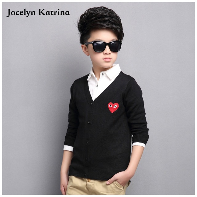 Jocelyn Katrina 2017 spring and autumn new children's baby boys and girls cardigan sweater fashion sweater kids sweater