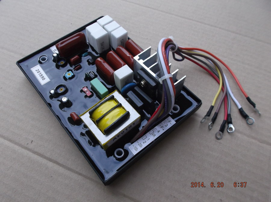 Free shipping DST-51 EDL13000TE EDL20000TE  diesel generator suit for the more generator AVR Automatic Voltage Regulator free shipping diesel generator avr suit for gv315 automatic voltage regulator