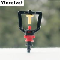 Wholesales Refractive Micro Sprinklers With 1 4 Connector Hanging Misting Microjet Garden Water Saving Flower Watering
