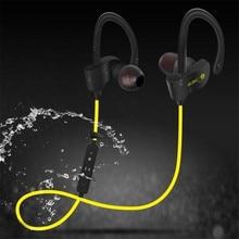 Waterproof Bluetooth Wireless Ear-Hook Headset Handsfree Stereo Sport Earphone With Microphone For IPhone 6 6S 7 Samsung galaxy