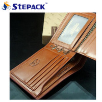 Free Shipping Genuine Leather Genuine Leather Wallet Wallet Men New 2013 New Korean Style Fashion Bags