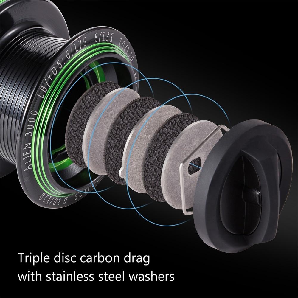 com rolamentos resistentes a corrosao arrasto de fibra carbono 04