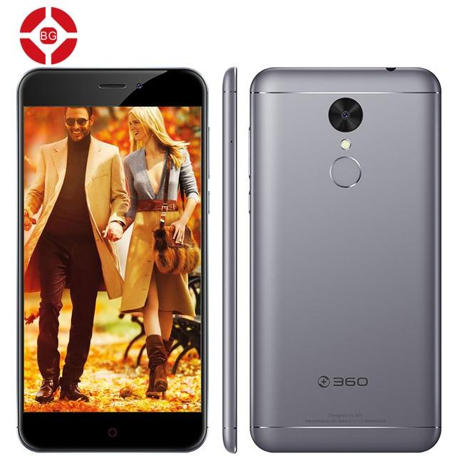 "BG Original 360 N4A 4G LTE Mobile Phone Octa Core Android 6.0 5.5"" FHD 3GB RAM 32GB ROM 13.0MP Fingerprint 4000mAh Metal Body"
