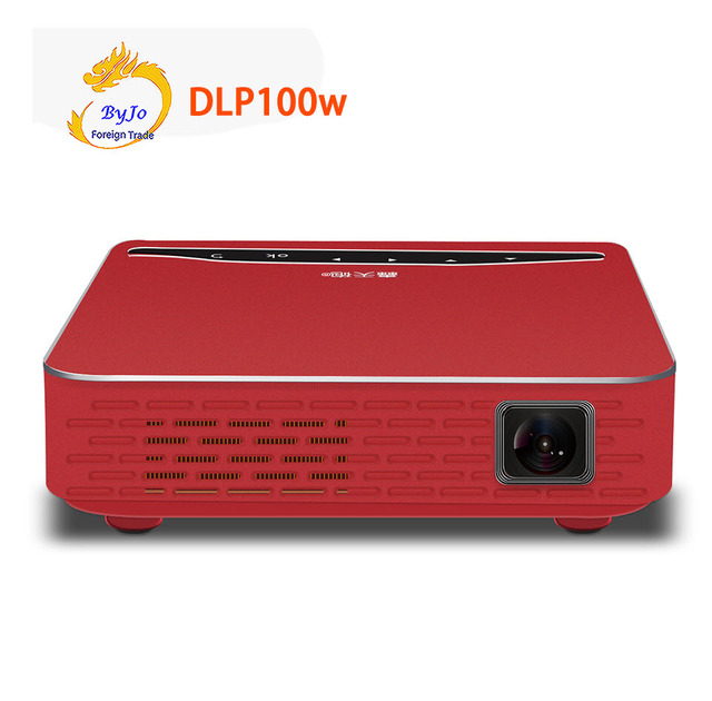 Special Price Poner Saund DLP100W Projector 1500Lumen 6000MAh Battery Sync Display Bluetooth WIFI Projector 3D Home Theater HDMI 1080P