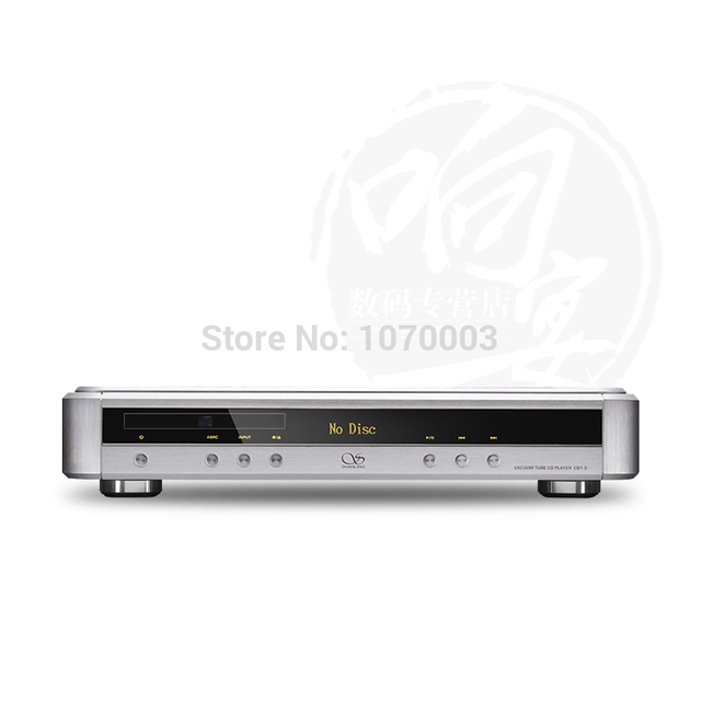 R-052 Shanling CD1.2 Hi-end CD Player Vacuum Tube CD Player PC HiFi 24bit/192kHz USB DAC PCM1796 DAC Audiophile CD player