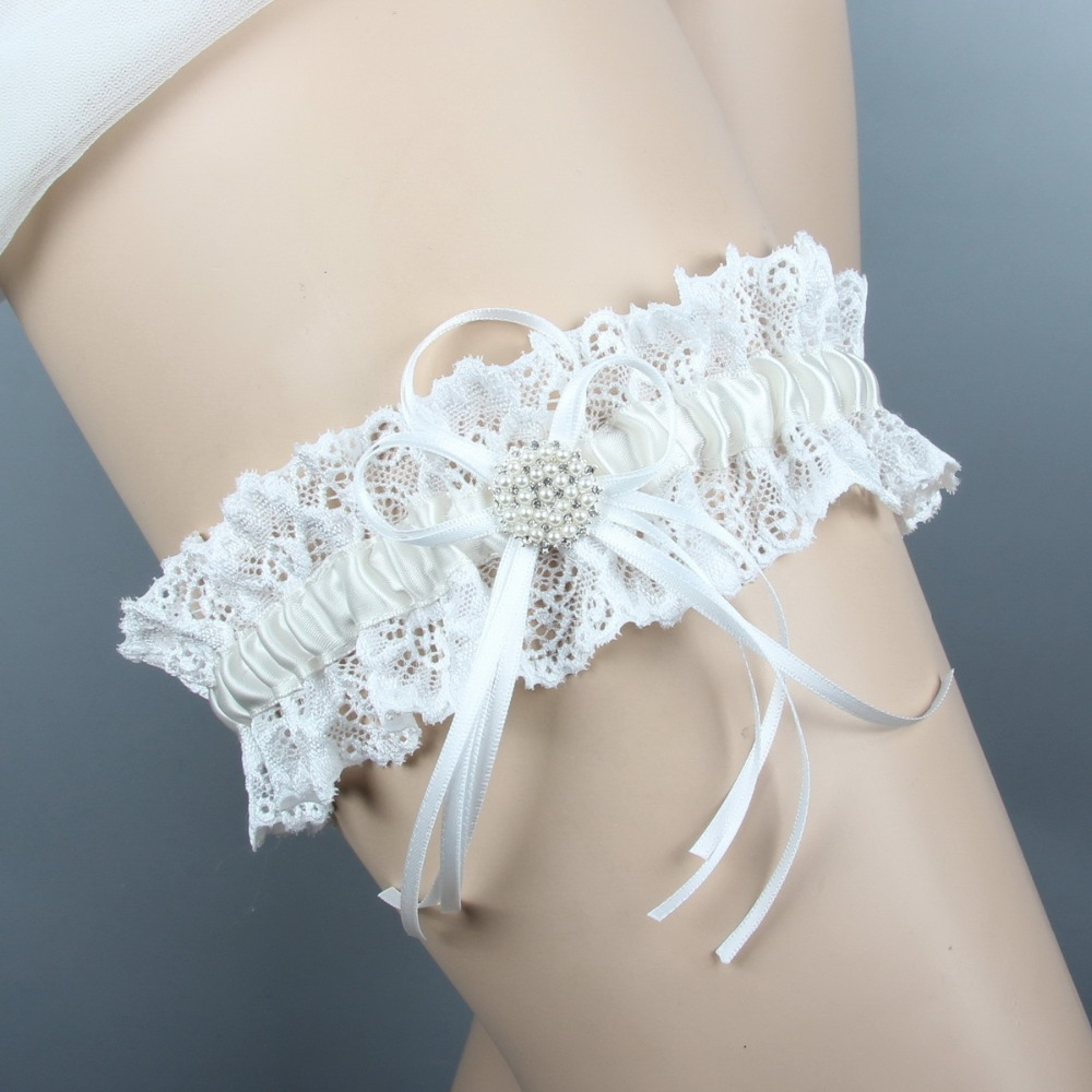 Lace Wedding Garters: FOLOBE Elegant Female Exclusive Lace Wedding Garter Belt