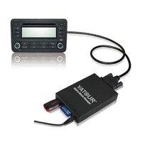 Samochodowy USB SD AUX 3.5 MM Interfejs Audio Multimedia Box Adapter Dla Toyota Camry RAV4 Scion Lexus 2003-2013 mała Wtyczka