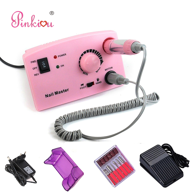 Electric Nail Drill Machine Nail Polisher Pedicure & Manicure Tool Set Pen For Nails Art Design Device For Manicure pro powerful 25000rpm electric nail drill pedicure manicure machine set with pedal