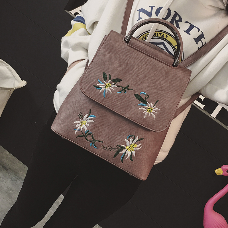 marca bordado mochila mochila de Backpack Usage : Daily Backpack