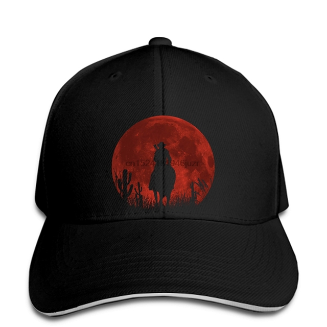 24134b2ca63 hip hop Baseball caps Custom Printed hat Men Red moon Red Dead Redemption  women snapback