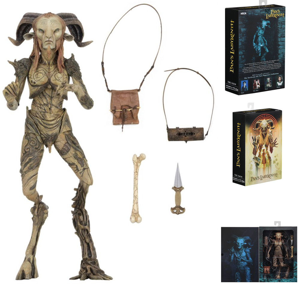 Neca Pan's Labyrinth The Faun 8 Inch 1:12 Scale Collection Model Pvc Action Figure El Laberinto Del Fauno Doll Toys