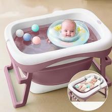 1 шт., Портативная Складная Ванна для детского душа, портативная силиконовая Емкость для мытья, Нескользящая Ванна для ванны, гидромассажная Ванна для ног