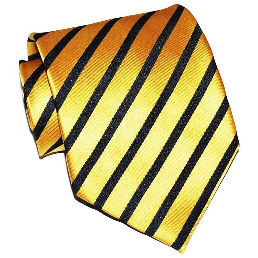 Hot Selling Black Gold Tie Men