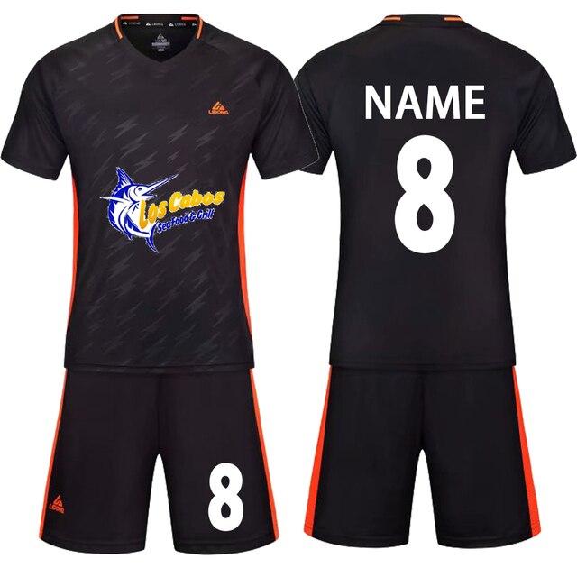 2018 juego de fútbol ropa deportiva hombres niños mujeres equipo  personalizado camisetas de fútbol camiseta entrenamiento 7813fd183f6c0