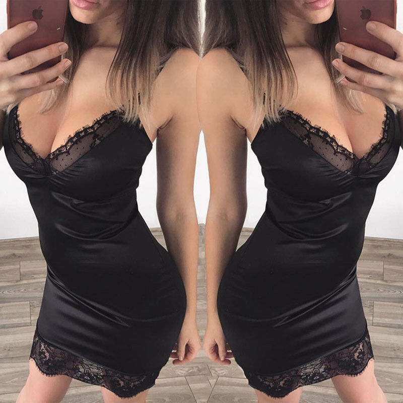 HTB18Fdsjv2H8KJjy0Fcq6yDlFXa9 New 2018 Summer Sexy Women Bandage Bodycon Cocktail Party Club Mini Short Dress