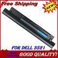 4 ячеек Батареи Ноутбука Для Dell для Inspiron 15R (5521) 17 3721 для Vostro 6KP1N FW1MN 14 15 3000 2421 G019Y MR90Y 3449 3549 2521