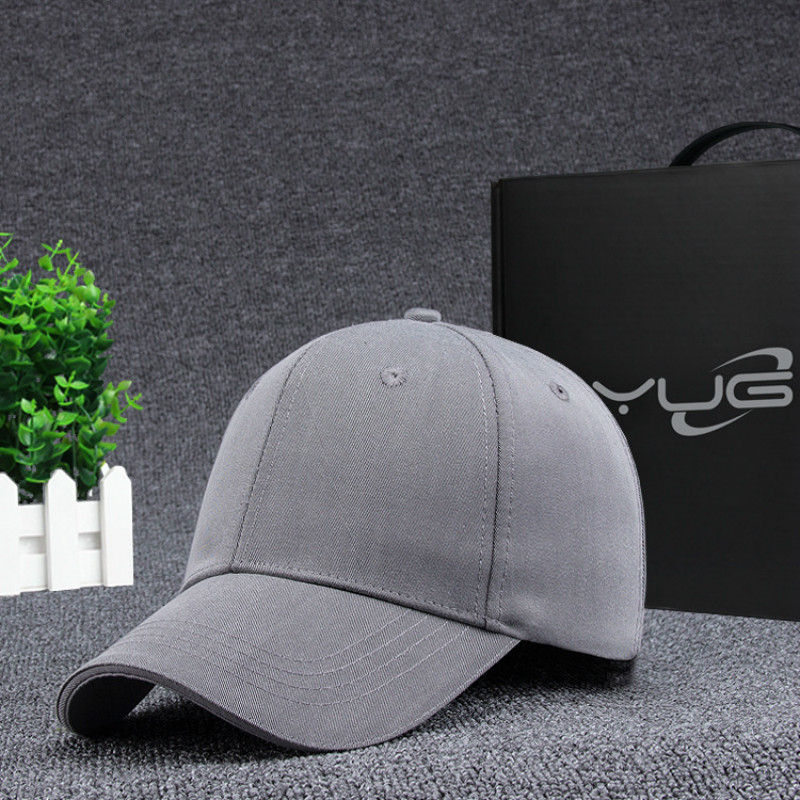 Prix pour Nouveautés polyester solide couleur baseball cap vintage casual chapeau snapback pas réglable casquettes de baseball marque nouvelle pour adulte