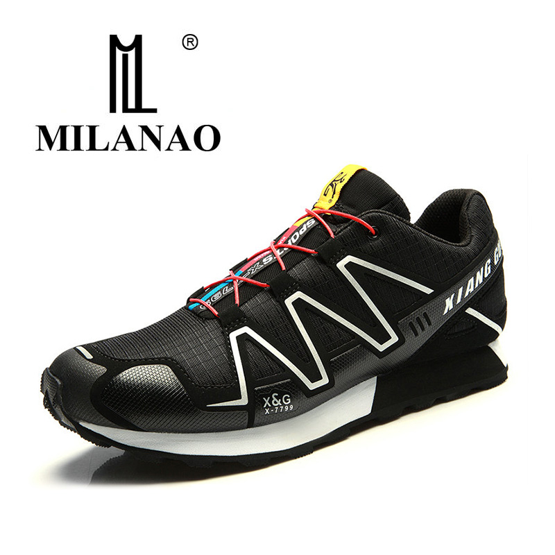 2017 MILANAO Running Shoes Man Outdoor Sneakers Sports Shoes Flat Trail Run Free Walking Shoes Jogging Trendy Shoe EUR 39-44 2016 sale hard court medium b m running shoes new men sneakers man genuine outdoor sports flat run walking jogging trendy