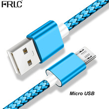 FRLC Micro USB cable for Samsung s7 Huawei Xiaomi LG Andriod phone charging usb Mobile Phone charger