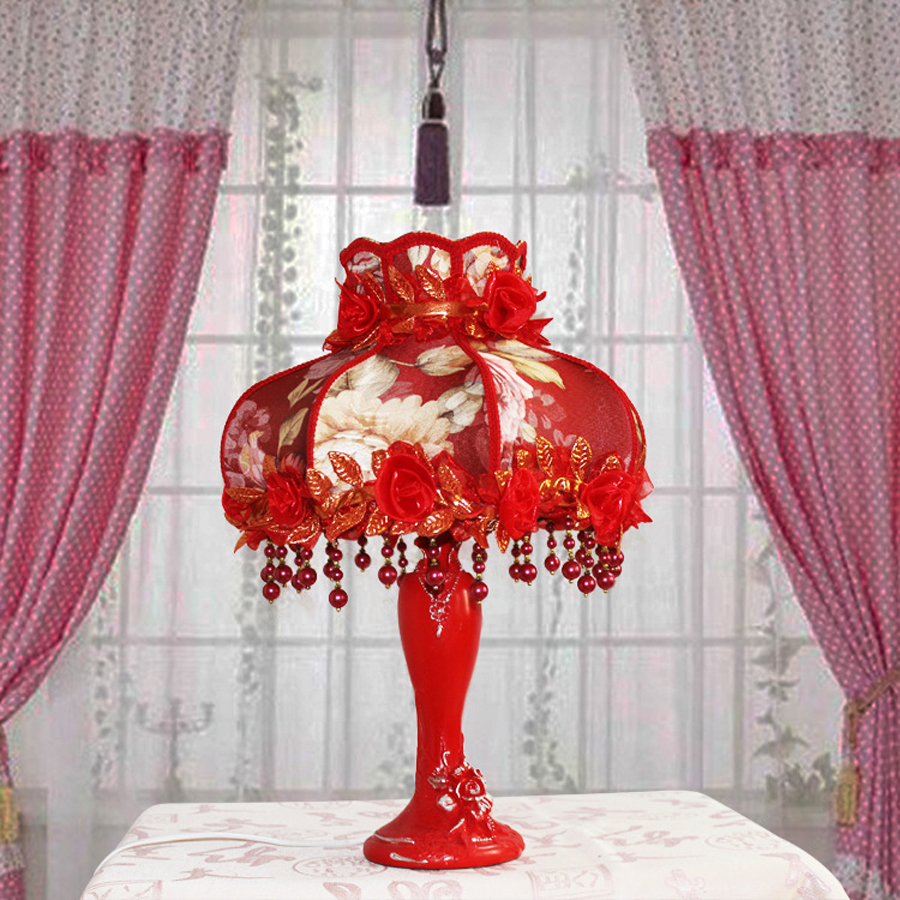 Aliexpress buy hot sale european wedding decoration table lamp aliexpress buy hot sale european wedding decoration table lamp resin petals red table lamp creative home decorative lamps from reliable home table mozeypictures