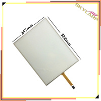 Original 15 Inch 4 Wire 4 3 Resistive Touch Screen Panel Machines Industrial Medical Equipment 322mm
