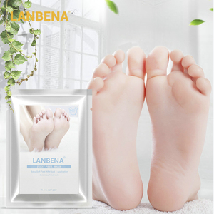 Отшелушивающая Маска LANBENA для удаления омертвевшей кожи всего за 2-7 дней, отшелушивающая маска для ног, пилинг пятки кутикулы