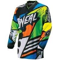 2016 New Green Red Black Moto GP Mountain Bike Motocross Jersey BMX DH MTB T Shirt