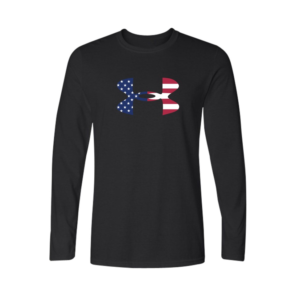 New design long sleeve simple printing customised t shirt wholesale funny t shirts