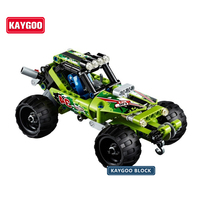 High Technic 2 In 1 Warrior Off Roader Racer Car Model 3D Building Set Sports Car
