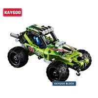 High Technic 2 In 1 Warrior Off Roader Racer Car Model 3D Building Set Sports Car