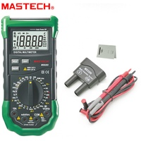 MS8265 LCD Digital Multimeter AC DC 10A High Precision Capacitance Frequency Tester Meter Transistor Continuity Diode back light