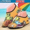 2017 quick dry crianças meninos shoes esporte de corrida anti-slip para piscina/praia dot crianças shoes boy sneakers transporte livre da menina