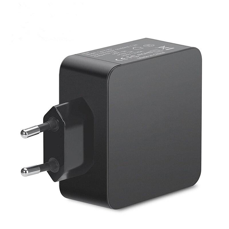 Image 5 - Универсальный адаптер для ноутбука 65 Вт EU Wall PD зарядное устройство type C Блок питания для Macbook Pro 12 13 дюймов 61 Вт для DELL XPS 12 xiaomi air-in Адаптер для ноутбуков from Компьютер и офис