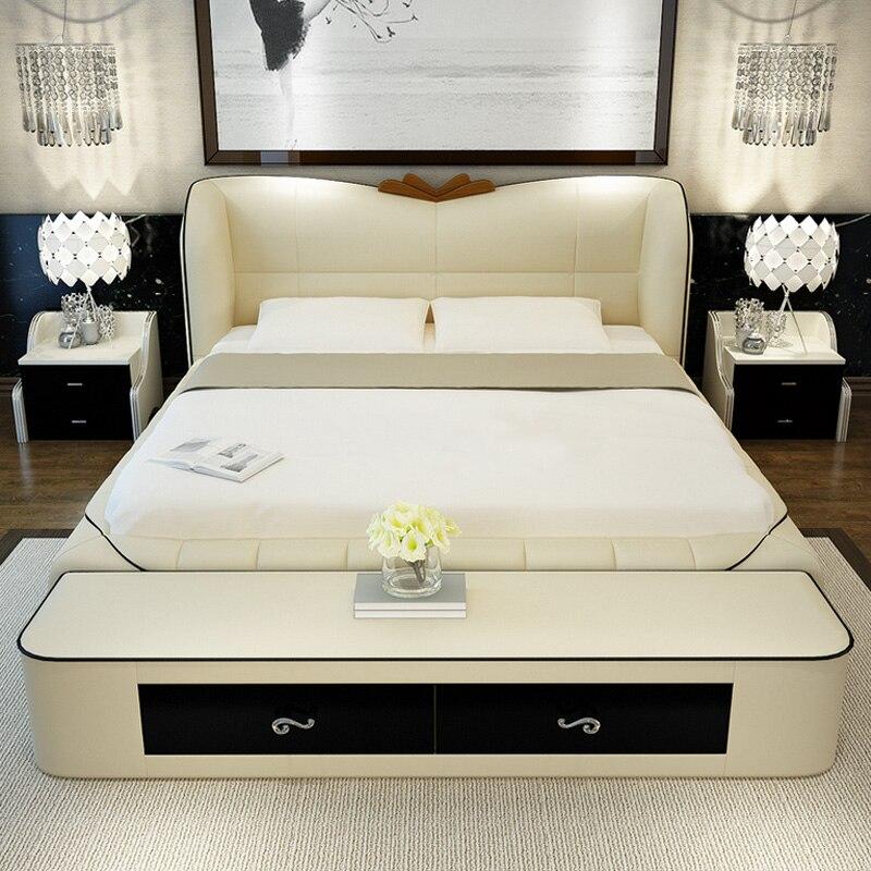 leather bed frames - Leather Bed Frame