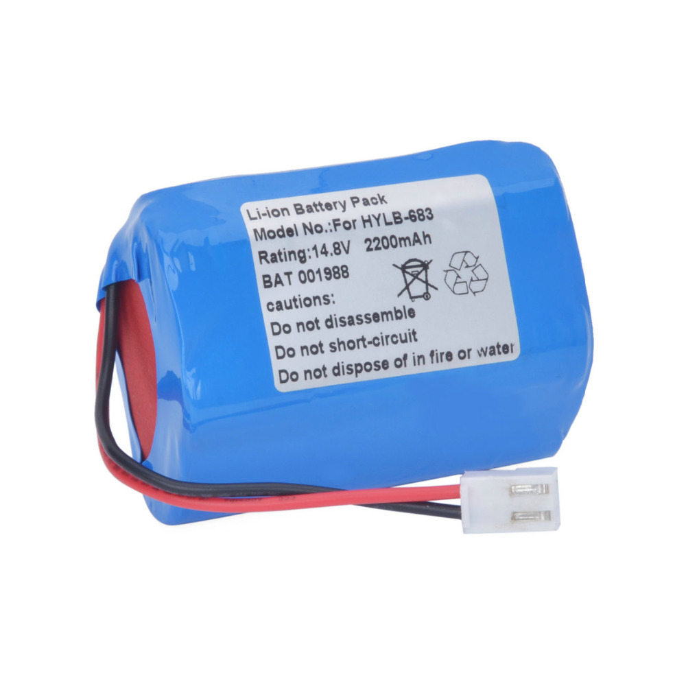 ФОТО New Medic Battery Replacement for Biocare ECG HYLB-683,HYLB-293,ECG-1200,ECG-1210 Vital Signs Monitoring Battery
