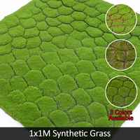Artificial Moss Fake Decorative Faux Moss Grass Linchen Turf Plants Lawn Patio Christmas Home Shop Decor Green Synthetic Grass