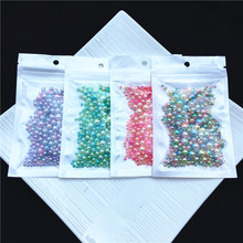 Mix 3/4/5/6/8mm 200pcs No Hole Colorful Pearls Round Acrylic Imitation Pearl Beads Diy for Jewelry Making/Nail Art no 200pcs diy rb 1