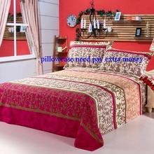 1PC 100% Cotton Bedroom Dormitory Bedsheet Comfortable Floral Heart Printing Bdespread Flat Sheet Home Decorative Bedding Sheet