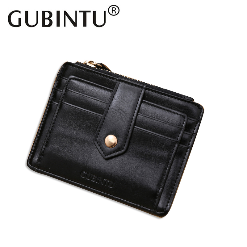 Fashion PU Leather Wallet Men Casual Small Hasp Credit Card Holder Black Wallets Solid Mini Money Coin Purse Male Purse men wallet fashion leather purse credit card holder dollar wallet male small wallet short money purses male clutch wallets