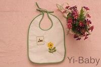 12PCS/Set YB0017 Flower Burp Cloths Baby bib Infant saliva towels Baby waterproof bib Free shipping