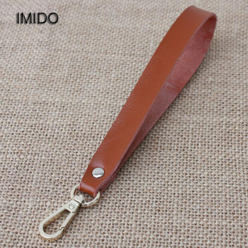 IMIDO New Genuine Leather Strap for bags women Clutch Cowhide Replacement Straps Bag Belt Short Accessory Handbags Brown STP039 2017 new lifting moving strap furniture transport belt in wrist straps team straps mover easier conveying belt orange