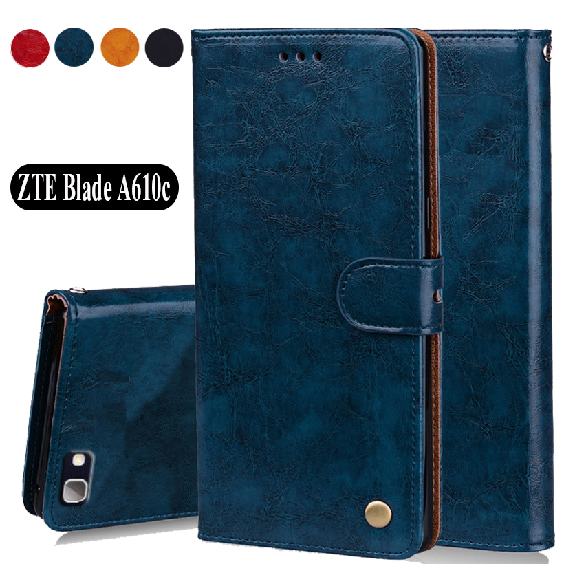 Luxury PU Leather Slip-resistant Flip Wallet Case For <font><b>ZTE</b></font> <font><b>Blade</b></font> A610c <font><b>A</b></font> <font><b>610C</b></font> A610 C Book Case 5.0