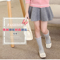 Jupon Fille High Waist Tutu Skirt Cotton Solid Colors Short Super Soft Fashion 2017 New Children Clothing Tutu Pettiskirt